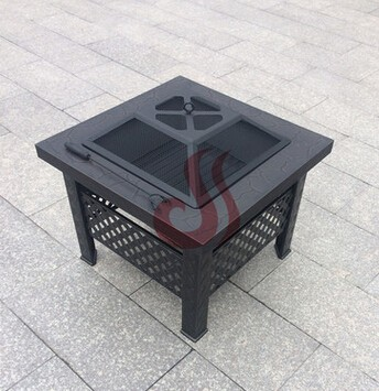 square outdoor fire pits